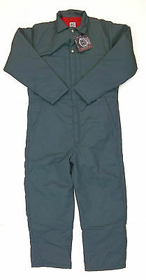 Big Bill Insulated Quilt Lined Twill Coverall Green