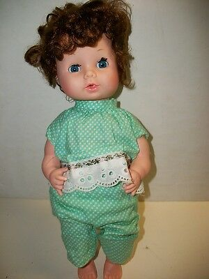 Vintage Eegee Doll 13 inches Tall