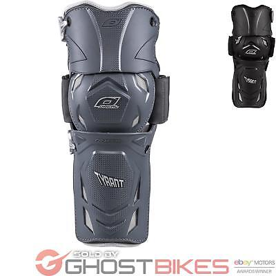 Oneal Tyrant Hinged Pivot Mx Dh Motocross Mtb Armour Knee Shin Guard Pads