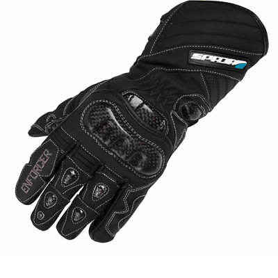 Spada Enforcer Motorcycle Gloves Motorbike Bike Pre-Curved Waterproof Breathable