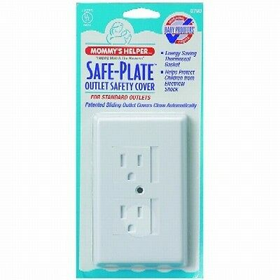Mommys Helper 07900 Safe Plate Electrical Outlet Plug Cover Standard - Qty 1