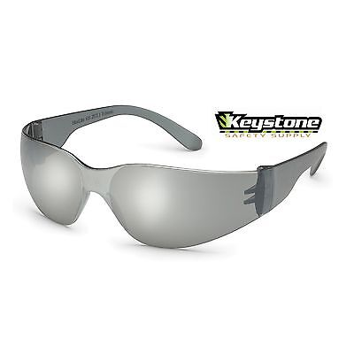 10 Pair Gateway Safety Small StarLite Glasses Silver Mirror Lens 368M  ANSI Z87