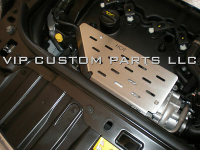 Vip R55/r56/r57/r58/r59/r60/r61 Turbo Heat Shield For 2011+ Mini Cooper S Only