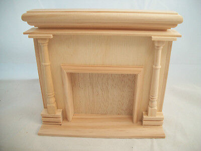 Monticello Fireplace  2401 wooden dollhouse furniture 1/12 scale Houseworks
