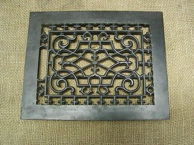 Vintage Cast Iron Register Grate > Antique Old Hardware Architectural 6375