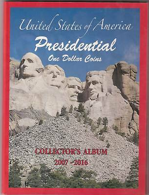 BRILLIANT UNCIRCULATED COINS PRESIDENTIAL GOLDEN DOLLAR COLLECTION 2007 to 2016