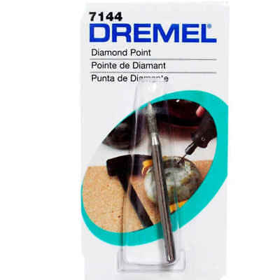 Dremel 7144 Diamond Wheel Point 2.4mm Pack of 2 Carving Engraving Routing