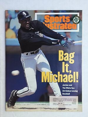 March 14, 1994 Michael Jordan Chicago White Sox Sports Illustrated