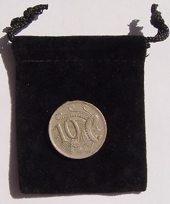 "TINY BLACK VELVETEEN BAG (2""x2"") Wicca Pagan Witch Mojo"