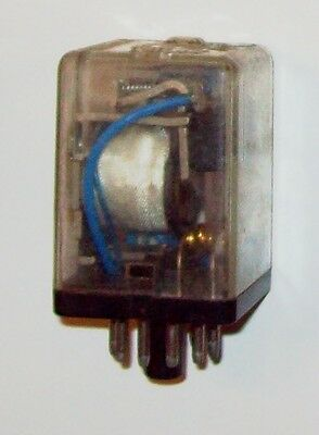 Recovered Plug-In Relay 110VAC 50Hz coil, 3 c/o 5A @ 110VAC or 3A @ 240VAC