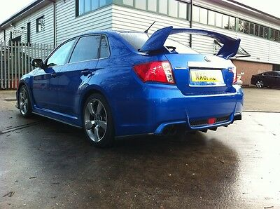 Subaru Impreza WRX STi 2011-14 Side skirt Ext.s & Rear Lips Saloon. HT Autos UK.