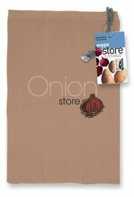 Eddingtons Onion / Vegetable Storage Store Bag, Black Liner, Fresher Longer