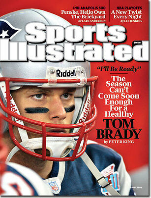 June 1, 2009 Tom Brady New England Patriots Sports Illustrated