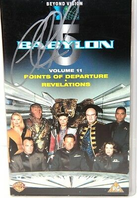BABYLON 5 : Volume 11 Video Tape, signed by Claudia Christian