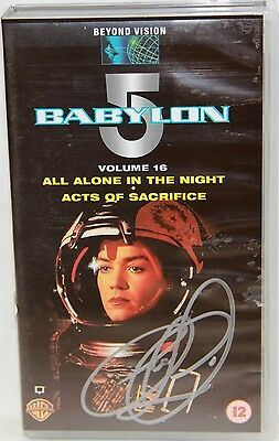 BABYLON 5 : Volume 16 Video Tape, signed by Claudia Christian