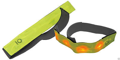 Mercury Hi Vis Reflective Armband With LED for Cycling or Jogging
