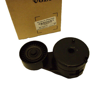 Volvo Penta OMC New OEM Alternator Belt Tensioner Pulley Balancer 3860091