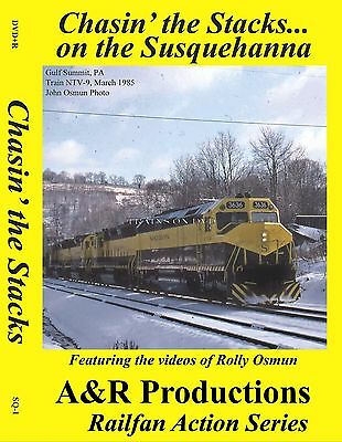 Chasin' The Stacks On The Susquehanna Classic Railroad Videos Dvd