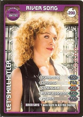 Dr Who Monster Invasion Set 2 Extreme Card: 200 River Song