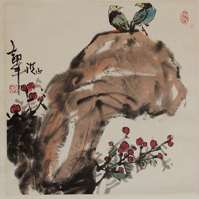 20th CENTURY HAND PAINTED CHINESE SCROLL