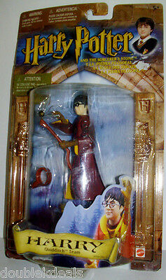 NEW ♥ HARRY POTTER ♥  2001 FIGURE QUIDDITCH TEAM FROM SORCERER'S STONE  MATTEL