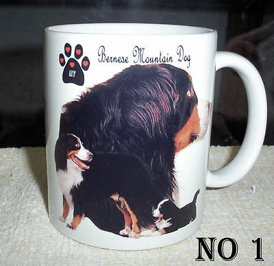 BERNESE MOUNTAIN DOG'S ( 2 Designs to choose from ) COLLECTABLE COFFEE  MUG
