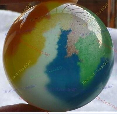 Multicolor 60mm Mexican Opal Sphere, Crystal Ball/Gemstone