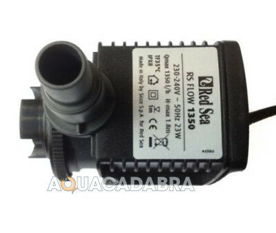 Red Sea Max 250 Circulation Pump Rs-1350 Lph R40334 2 Replaces Rs1500 Tank