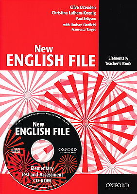 Oxford NEW ENGLISH FILE Elementary Teacher's Book with CD-ROM @New 9780194518871