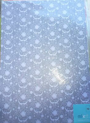 20 Sheets A4 Oxford Rose Silver Metalic Paper pack Laser Compatible Invitations