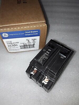 Ge General Electric Thql2150 New Circuit Breaker 2 Pole  50 Amp 240 Vac