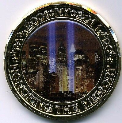 10th Anniversary September 11 Military Challenge Coin