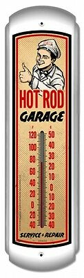Hot Rod Garage colorful  thermometer auto/ shop/ garage Perfect for Dad !!