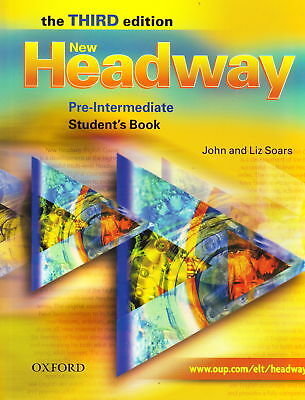 Oxford NEW HEADWAY Pre-Intermediate THIRD EDITION Student's Book @BRAND NEW@
