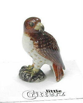 little Critterz Miniature- Red Tailed Hawk - LC570 (Buy 5 get 6th free!)