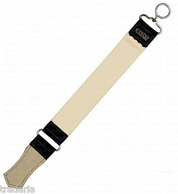 LARGE REAL LEATHER STROP BELT FOR SHARPENING STRAIGHT CUT THROAT RAZOR RAZORS