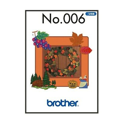 Brother Embroidery Sewing Machine Memory USB Stick BLECUSB6 Autumn Collection
