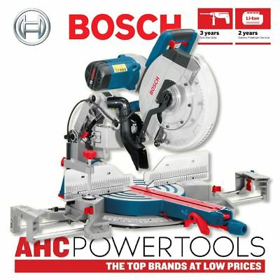 "Bosch GCM 12 GDL Professional 12"" 305mm Double Bevel Axle-Glide Mitre Saw 240v"