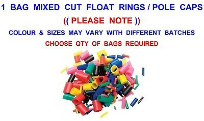 Mixed Cut Float Rings Match Feeder Method Pole Fishing Carp Rod Caps Rig Tube