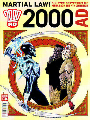 2000AD Prog #1744 - 27 July 2011 - NEW