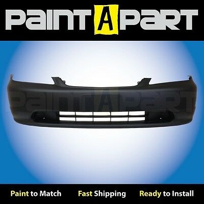 Front Bumper Cover Replacement For 2001-2003 Honda Civic NEW Painted to Match