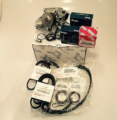 Complete TIMING BELT KIT + WATER PUMP 2.0 2.2 Genuine & OE Manufacture Parts