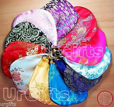 100 pcs Gorgeous Wholesale Chinese Silk Gift Wrap Bags