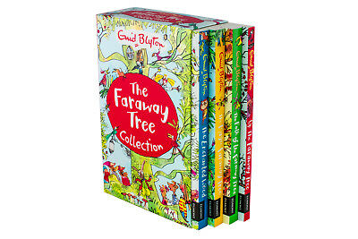 The Magic Faraway Tree Collection Enid Blyton 4 book Set Pack Enchanted Woods