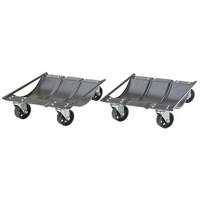 Larin CWD2 Car Wheel Dolly Set Pair - 1000 lb Capacity Each