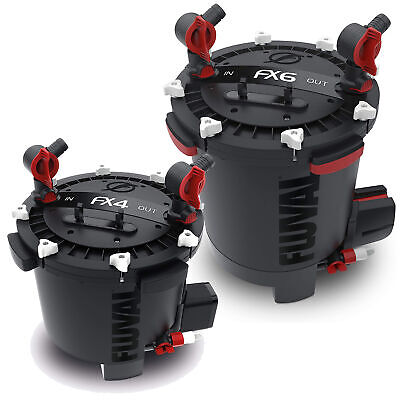 Fluval 106 206 306 406 Fx6 Fx4 External Power Filter Including Media Fish Tank