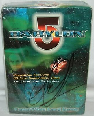 BABYLON 5 : Collecatible Card Game, signed by Claudia Christian