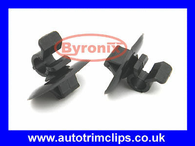 HONDA CIVIC MK8 BONNET ROD STAY GRIPPER HOOK ARM CLIPS x 2