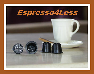 COFFEEDUCK NEW refillable NESPRESSO Capsules for Coffee Machines after Oct 2010