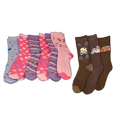 6 x Kids Winter Extra Warm Hot Thick Thermal Socks